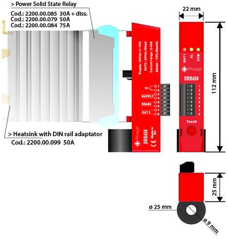 <p>regolatore pid hot runner dimensioni e installazione.&nbsp;</p>