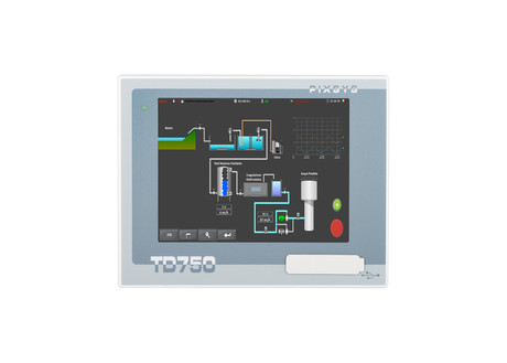 <p>Panel Pc Fanless TD750 con schermo touch screen da 7'' e Windows Embedded. | Pixsys srl&nbsp;</p>