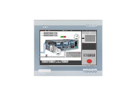<p>Panel Pc industriale Fanless TD860 con case in alluminio e schermo touch screen.   Pixsys srl&nbsp;</p>