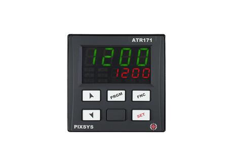 <p>Regolatore di temperatura PID configurabile 72x72 mm -ATR171- multisetpoint/ doppio ingresso caratterizzato da semplicita di utilizzo da parte dell'utente.</p>